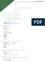 FORTRAN77 Subroutine for matrix inversion