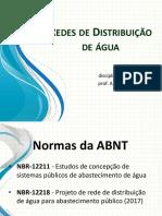 Redes de Distribuição - Saneamento PUC Campinas