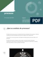 Equipo 4, Tema 3 - Análisis de procesos