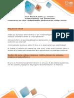 Presentación del curso Fundamentos de Administración