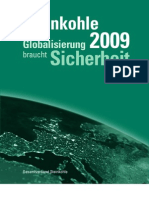 Steinkohle Jahresbericht 2009