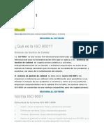 ISO 9001 cambios 2015
