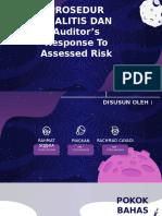 Kelompok 5 - Prosedur Analitis Dan Auditor's Response to Assessed Risk (Pemeriksaan Audit Lanjutan)