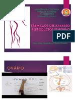 Fármacos en Enfermedades Del Aparato Reproductor Femenino
