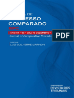 Revista de Processo Comparado - RPC, Vol. 8, 2018.