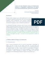 Guía del trabajo de didáctica