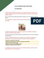 DEBER DE FORMACION CRISTIANA II