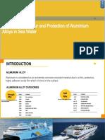 Corr Behaviour & Protect of Al Alloys in Sea Water