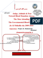 KAP - of blood donation ,