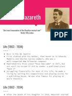 Ernesto Nazareth - presentation