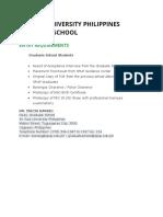 SPUP Graduate School Admission.docx