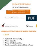 1° SEM Normas Constitucionales en Materia Tributaria 2019-2