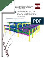 proyecto estructuras de concreto