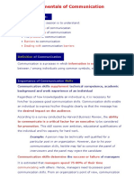 Ch 1 Fundamentals of Communication