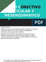 23 de abril exposicion de histologia TEJIDO CONJUNTIVO O CONECTIVO reticular y mesenquimal.pptx