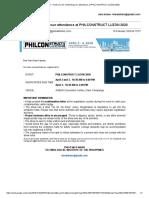 PHILCONSTRUCT LUZON 2020