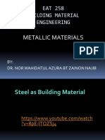 Metallic Materials