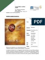 RESEÑA CINEMATOGRÁFICA, The Secret. RAÚL CASTELLANOS DÍAZ.pdf