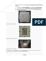 List of Intel Core i5 microprocessors