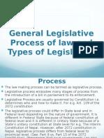 General LP and Types of Legislation