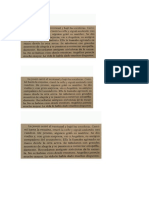 Textos para evaluación