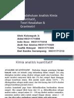 Kuantitatif, Kesalahan, Gravimetri MPP