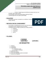 Technologie des matériaux-BT3