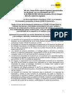 COLOMBIA - Resultados Grupo Éxito 1er Trimestre 2020