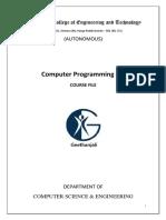 Cp II Sem Course File v-1