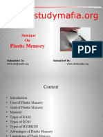 mca Plastic Memory ppt