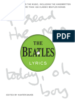 The Beatles Lyrics - Hunter Davies.epub