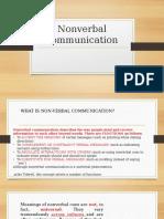 WEEK 9 Nonverbal communication