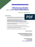 Clinical Effectiveness Bulletin 47, December 2010