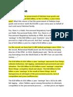 60 Billion Dollars by Dr. Farrukh Saleem