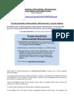 terapia quantistica mitocondriale e ristrutturante