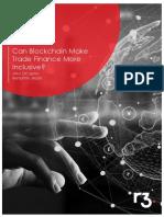 Can Blockchain Make Trade Finance More Inclusive?