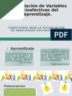 Condiciones para la potenciación de habilidades socioafectivas. (3)