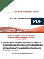 Coke Micro Distribution in Africa