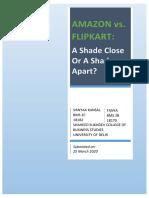 Amazon Vs Flipkart A Shade Close or A Shade Apart