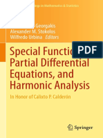 (Springer Proceedings in Mathematics & Statistics) Wilfredo Urbina, Alex Stokolos - Special Functions, Partial Differential Equations, and Harmonic Analysis_ In Honor of Calixto P. Calderón-Springer (.pdf