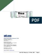 Manual Tico m220011w2p