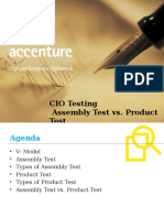 Product Test and Assembly Test_