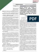 DECRETO SUPREMO N° 008-2020-IN