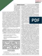 DECRETO SUPREMO N° 009-2020-PRODUCE