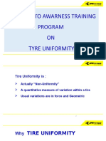 Basic concepts of Tyre uniformity