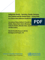 Indigenous Health – Australia, Canada, Aotearoa New Zealand and the United States