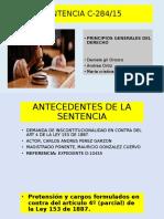 DIAPOSITIVAS SENTENCIA C284.15