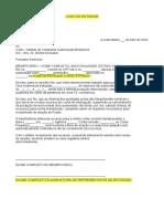 Carta modelo SINDICATO_Associação de Profissionais e Técnicos