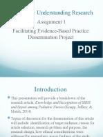 Facilitating Evidenced based project