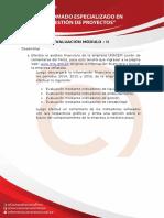 DIPLOMADO EN GESTION DE PROYECTOS MODULO II